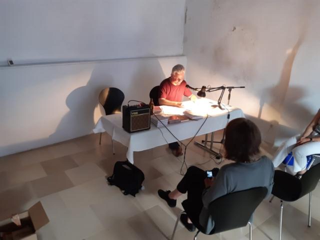 Florian Sendtner liest seine Labergeschichten