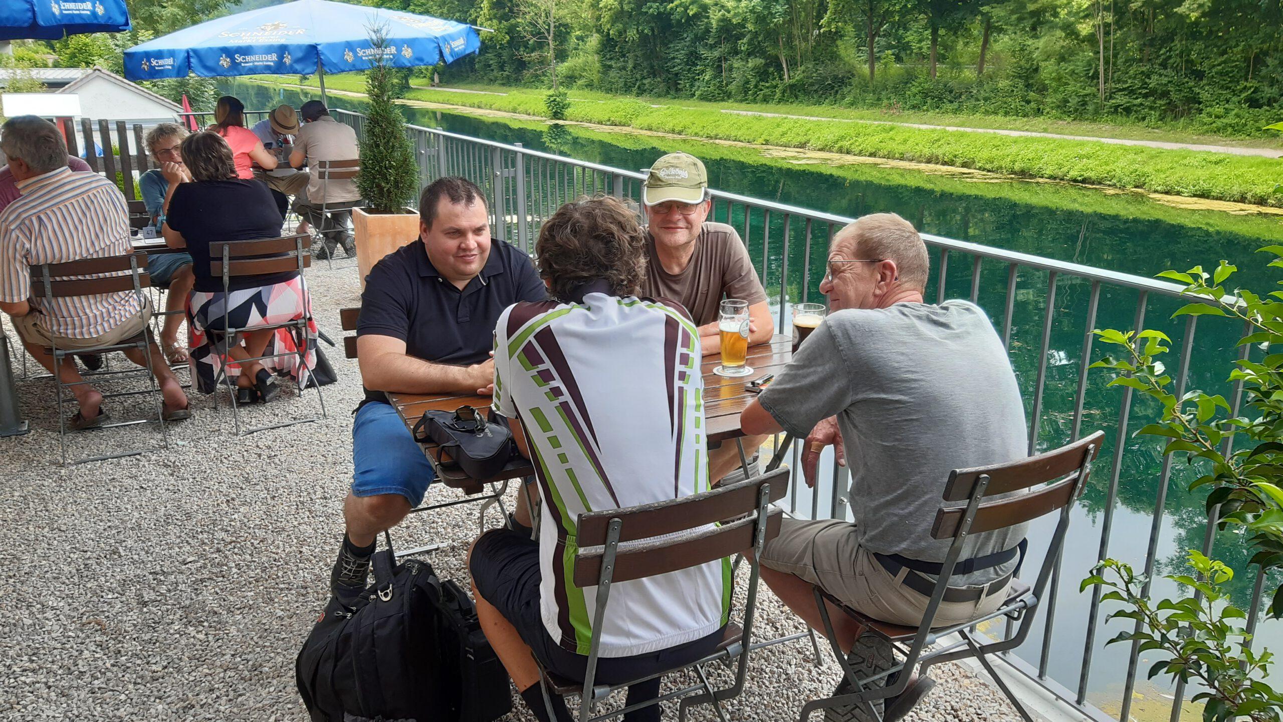 Einkehr im Gasthof Schneider in Essing