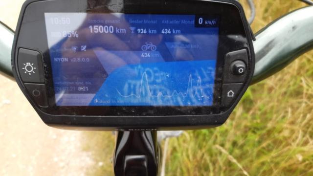 orstand Eisenhut knackt mit seinem Bike die 15.000 km Marke